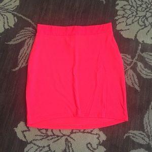 Pink soft skirt